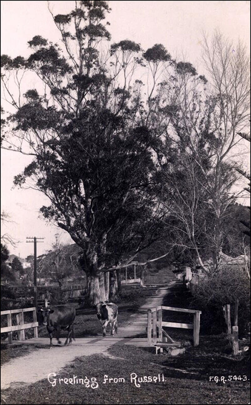 Historical photo of York St, Russell, near St Johns