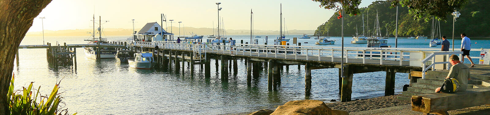 Russell's Waterfront and Wharf