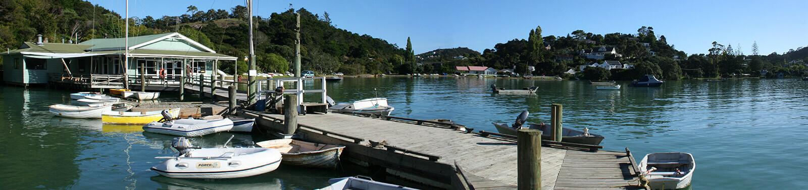 Matauphi boat dock