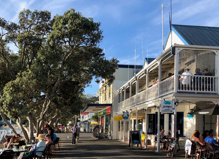 Russell's historic character along its main street creates a real centre of attraction.